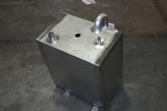 Frischwassertank einer Sirius 32DS - Wir bauen Ihnen auch Diesel- und Fäkalientanks
