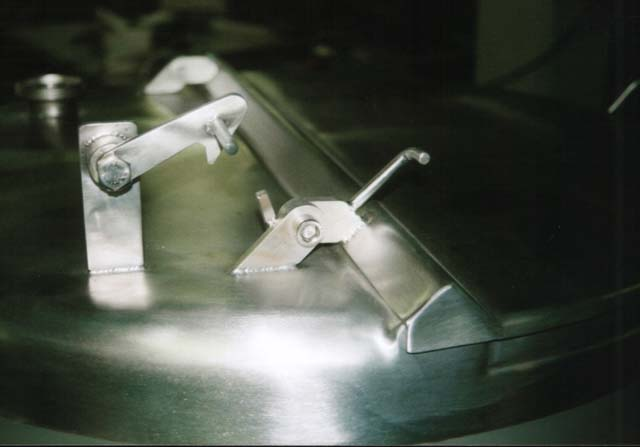 Detail des Rührwerks