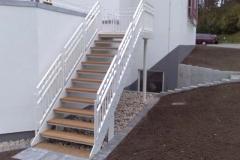 Strandhotel Glücksburg - Aussentreppe