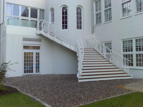 Strandhotel Glücksburg - Hochzeitstreppe